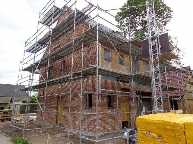 Realisaties - Open bebouwing - Open bebouwing in houtskelet, Schoten - Vraag uw gratis houtskeletbouw catalogus!