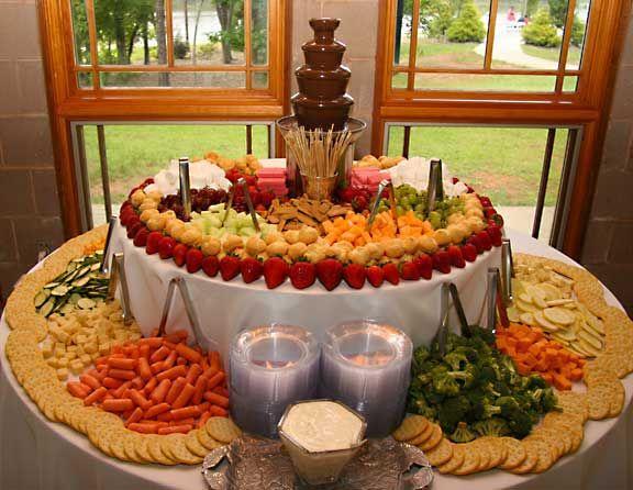 Menu Budget Food Reception Ideas Wedding