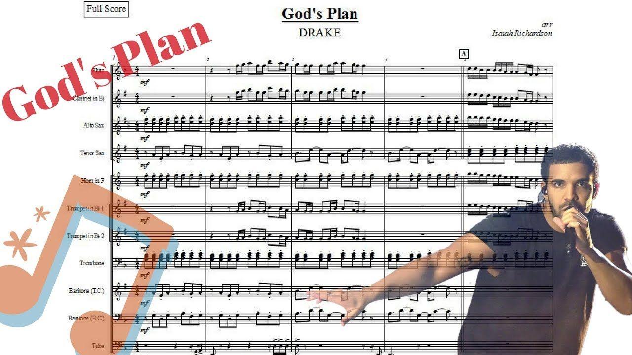 Drake Gods Plan Sheet Music Piano Notes Chords Sheet Music In