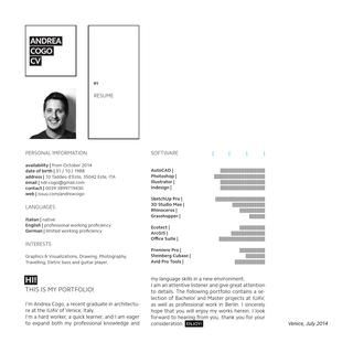 Andrea Cogo Mit Bildern Architektur Portfolio Architektur