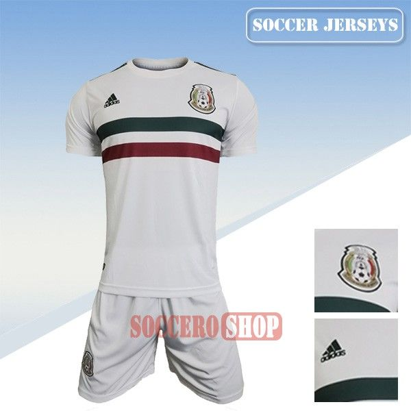 Make Your Own New Mexico White Soccer Away Jersey From Thailand 2017 2018   Soccero-Shop fb568d547081