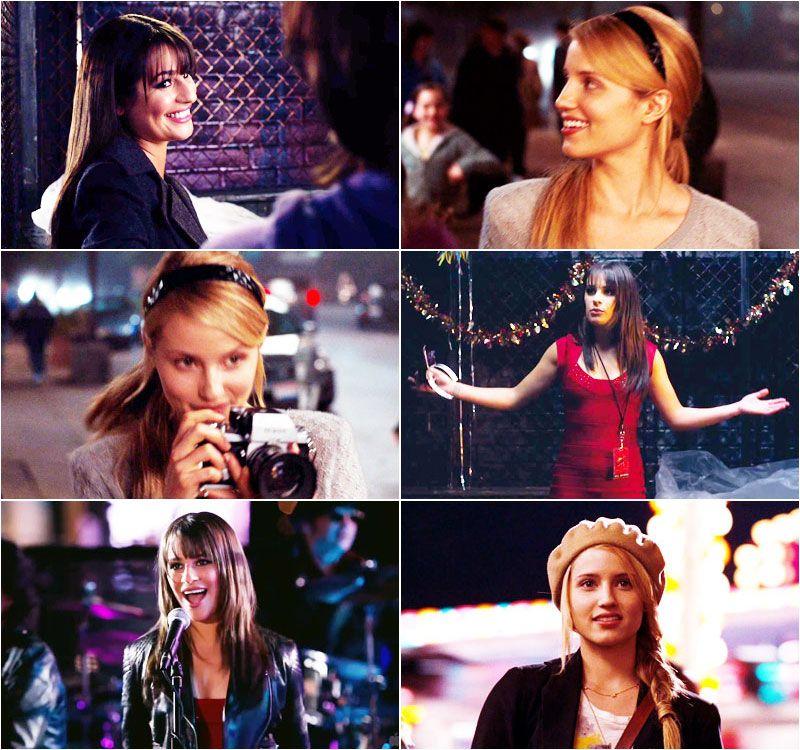 Glee Au Faberry By Before I Sleep Glee Diana Agron Glee Cast