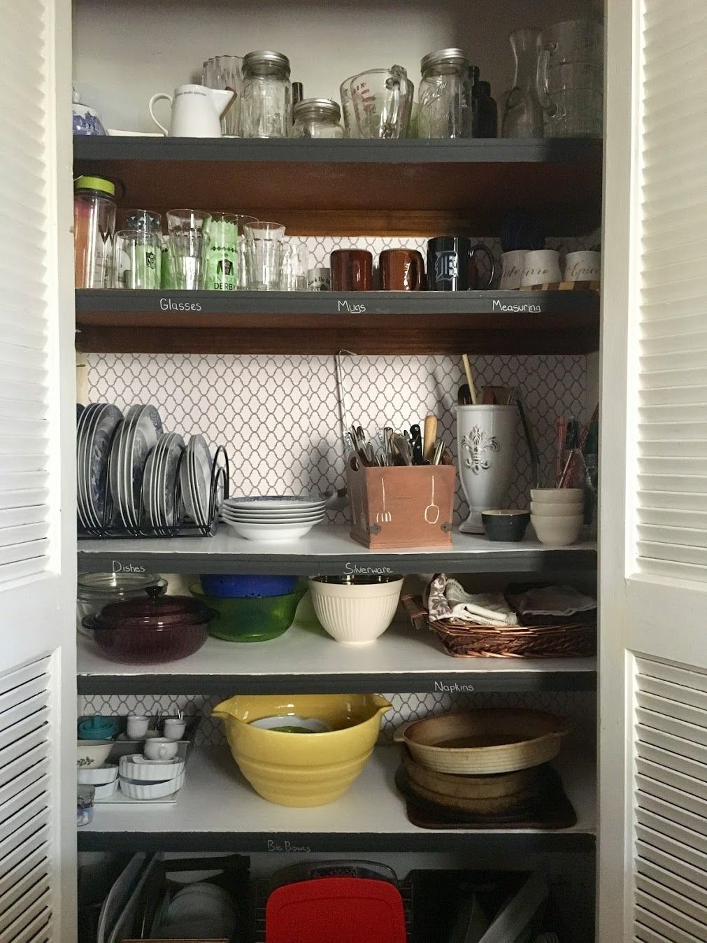 How I Organized My Kitchen Without A Single Drawer Kitchen