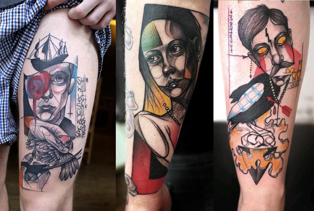 30 Of The Best Graphic Tattoo Artists Beautiful tattoos