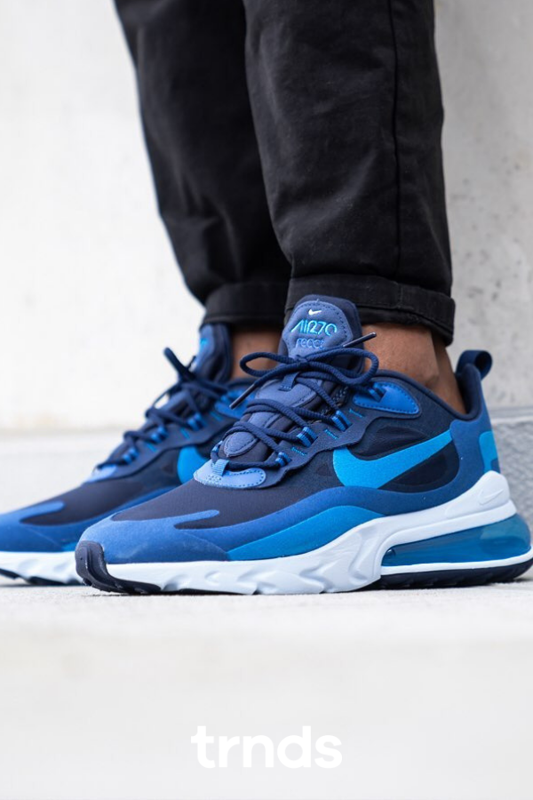 Nike Air Max 270 React Blue Void Photo Blue For Men It Only Takes