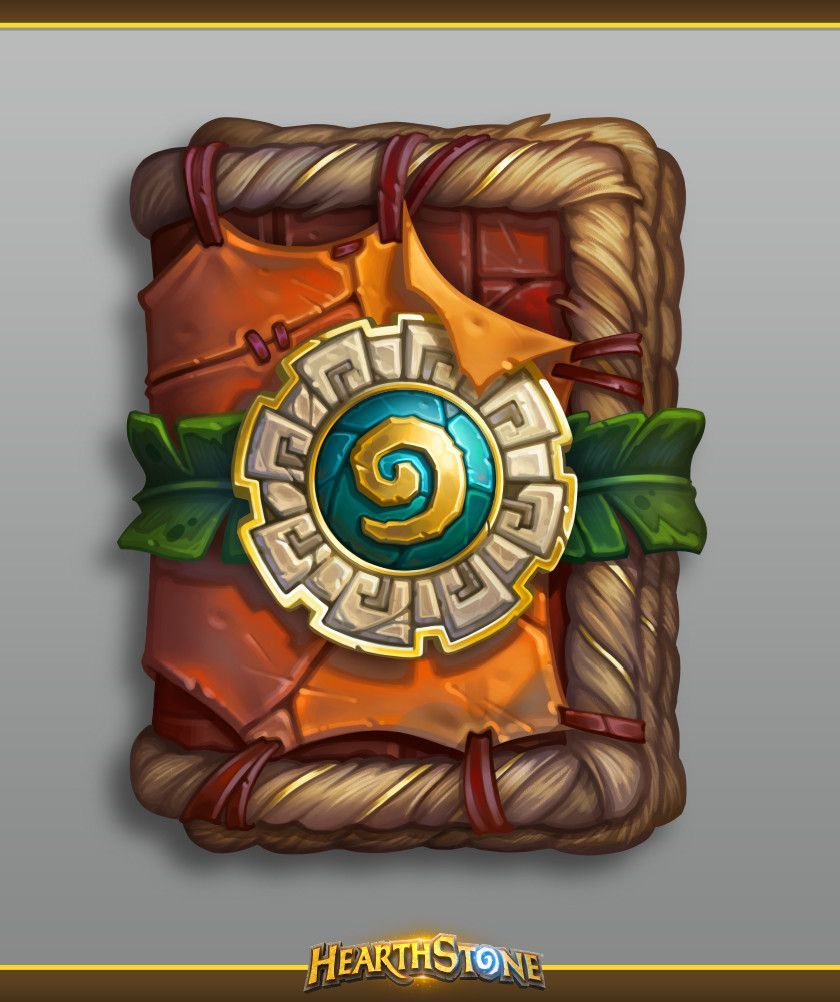 ArtStation - Hearthstone Rastakhan's Rumble card back and cards pack