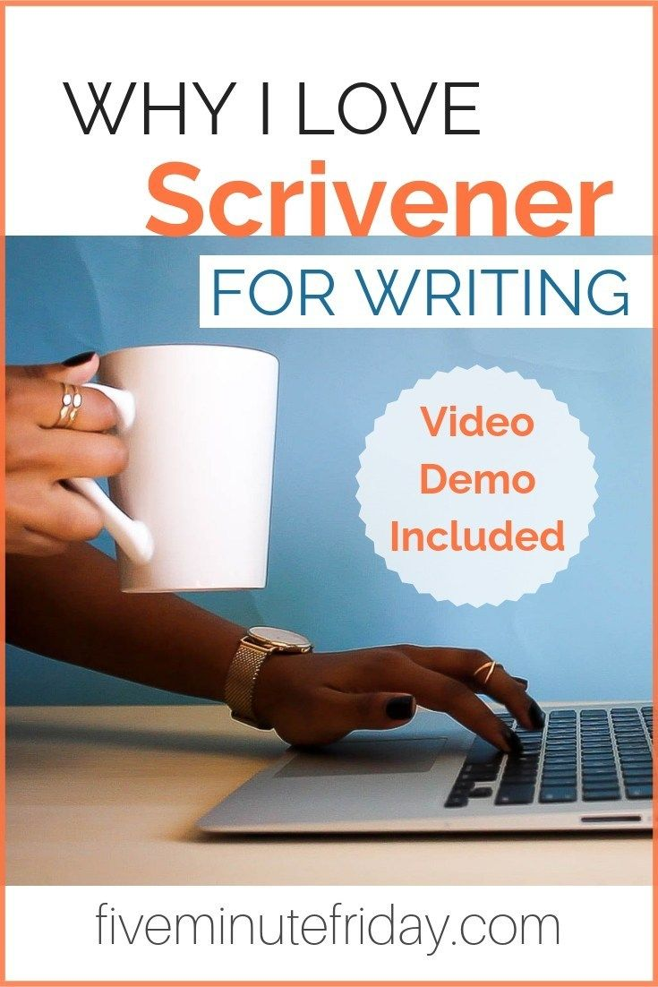 Why I Love Scrivener {Video Demo Included} Digital