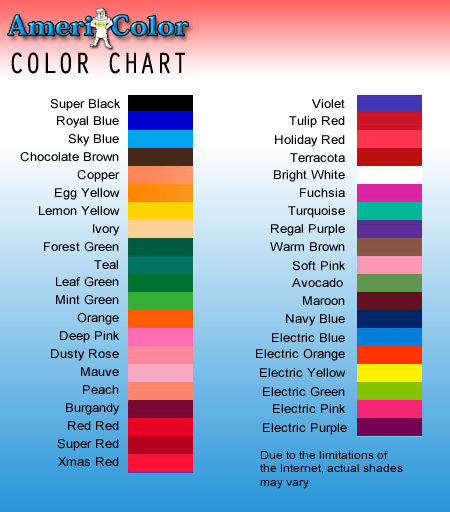 Americolor chart for food coloring dyes | Baking Tips, Tricks and ...