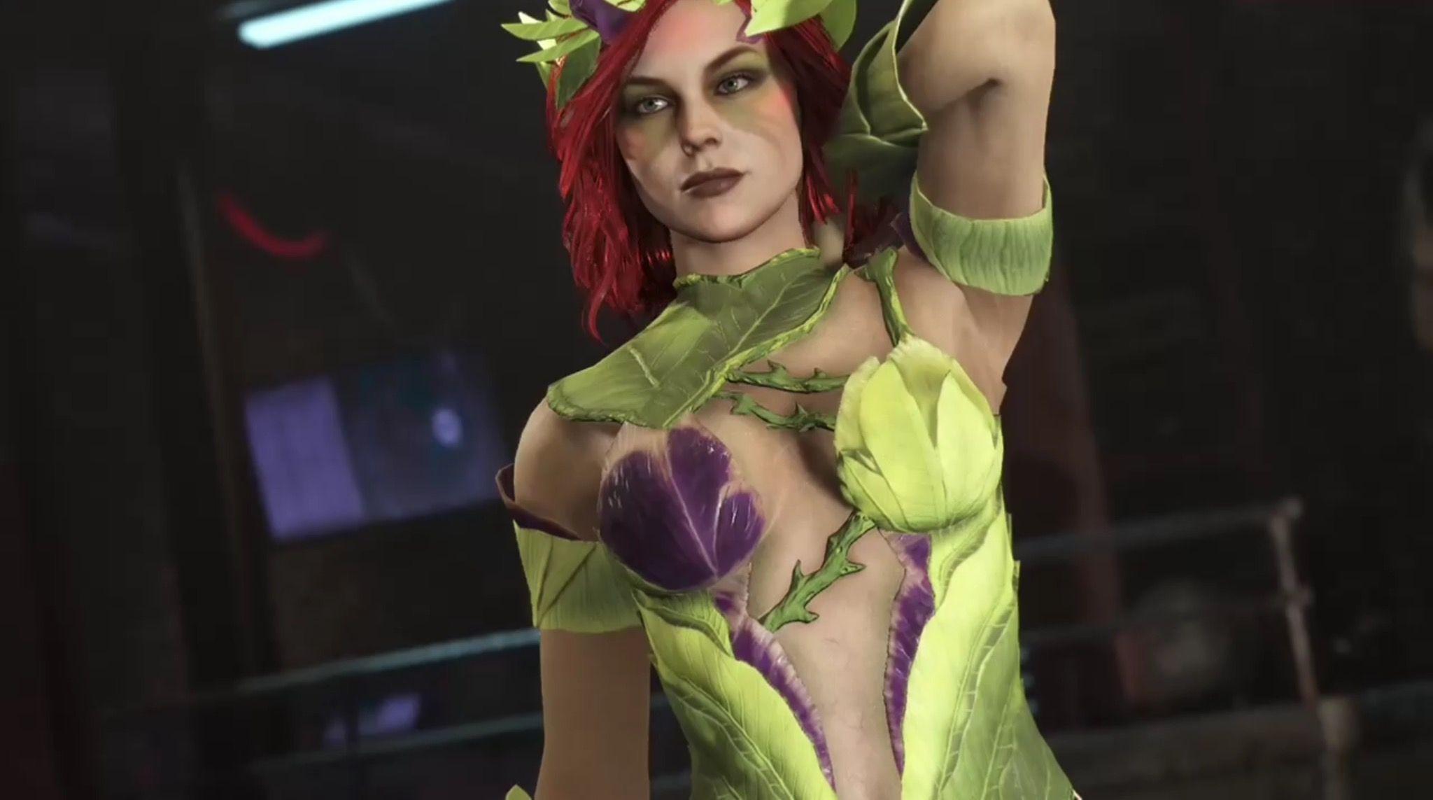 Injustice 2 Poison Ivy Gal Fashion Poison Ivy
