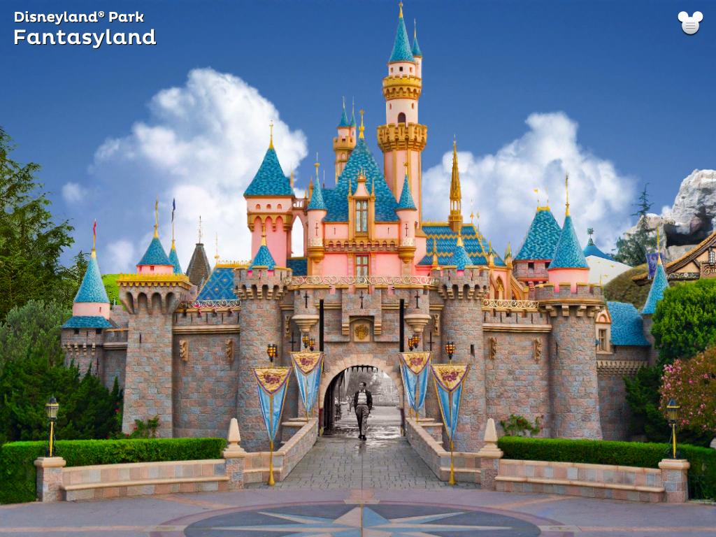 Sleeping Beauty Castle | DISNEY CASTLES | Disneyland ...