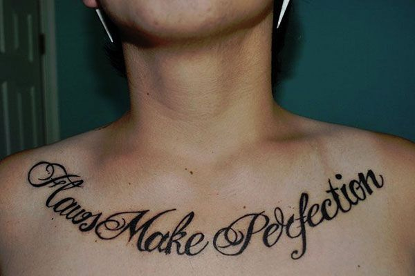 28 Intriguing Chest Tattoo Quotes Inspiring Quote Tattoos Tattoo Quotes Chest Tattoos For Women