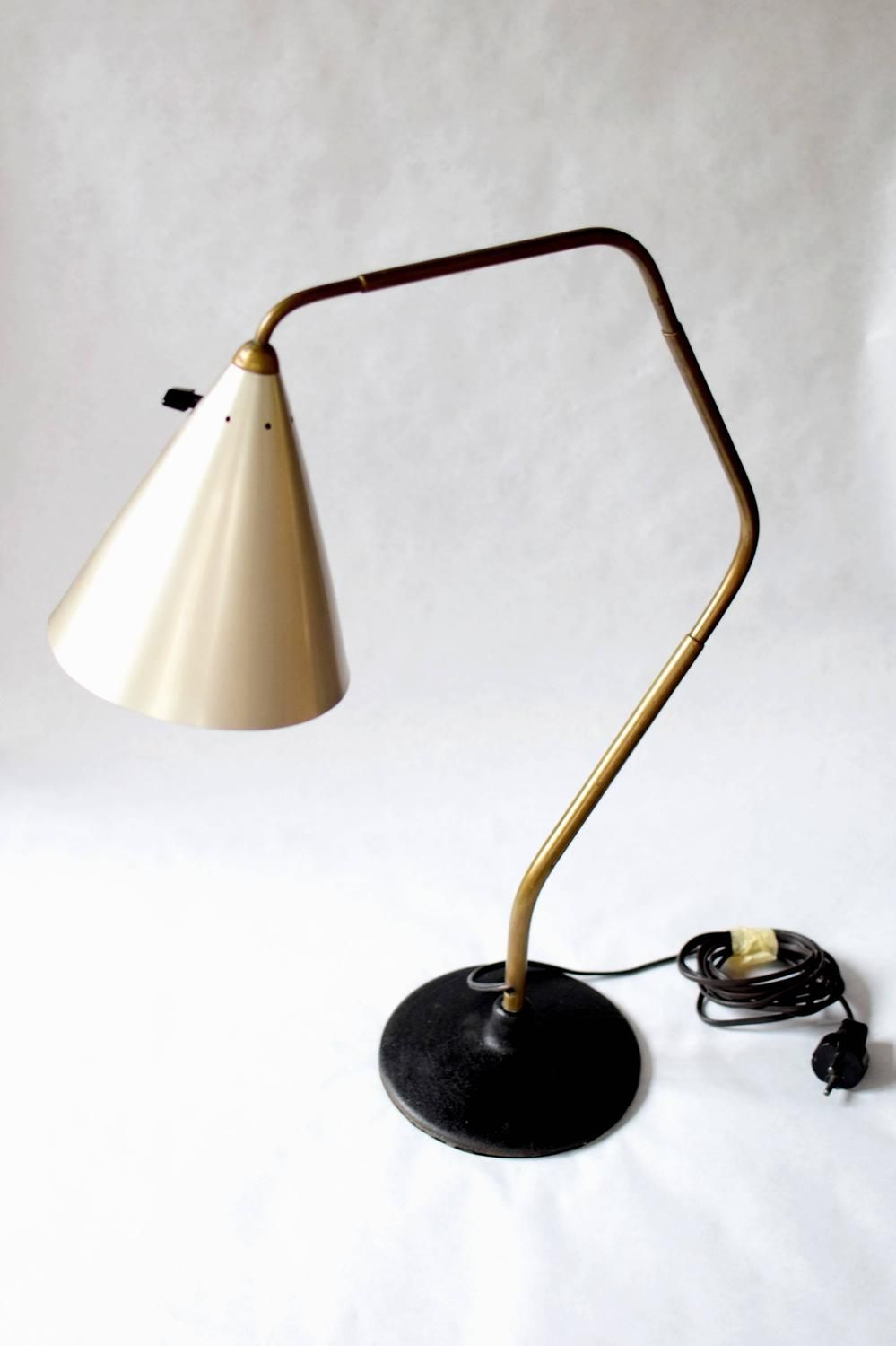 karl hagenauer large prototype flamingo table lamp - Lamp Bureau Ado