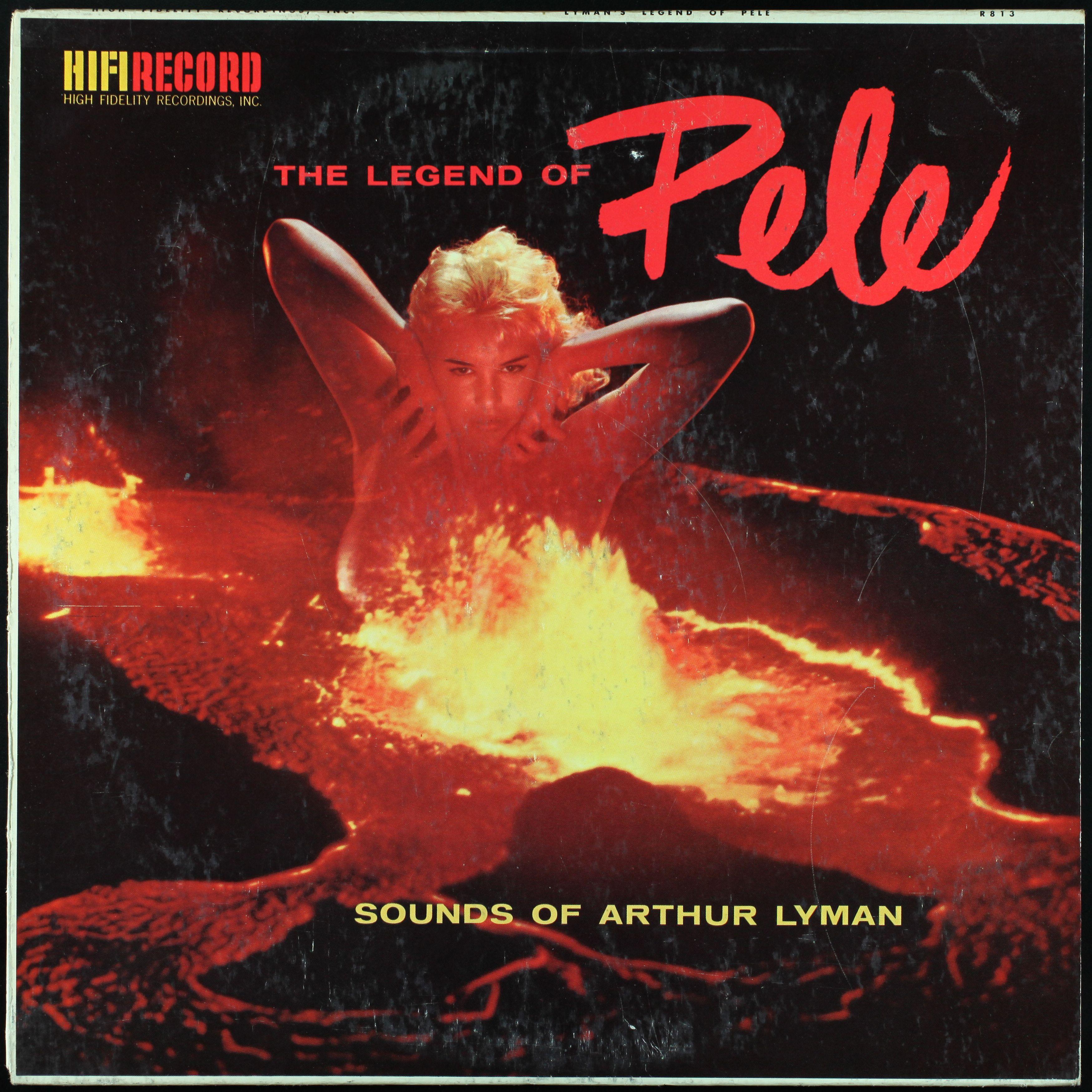 """Arthur Lyman """"The Legend of Pele"""", 1959"""