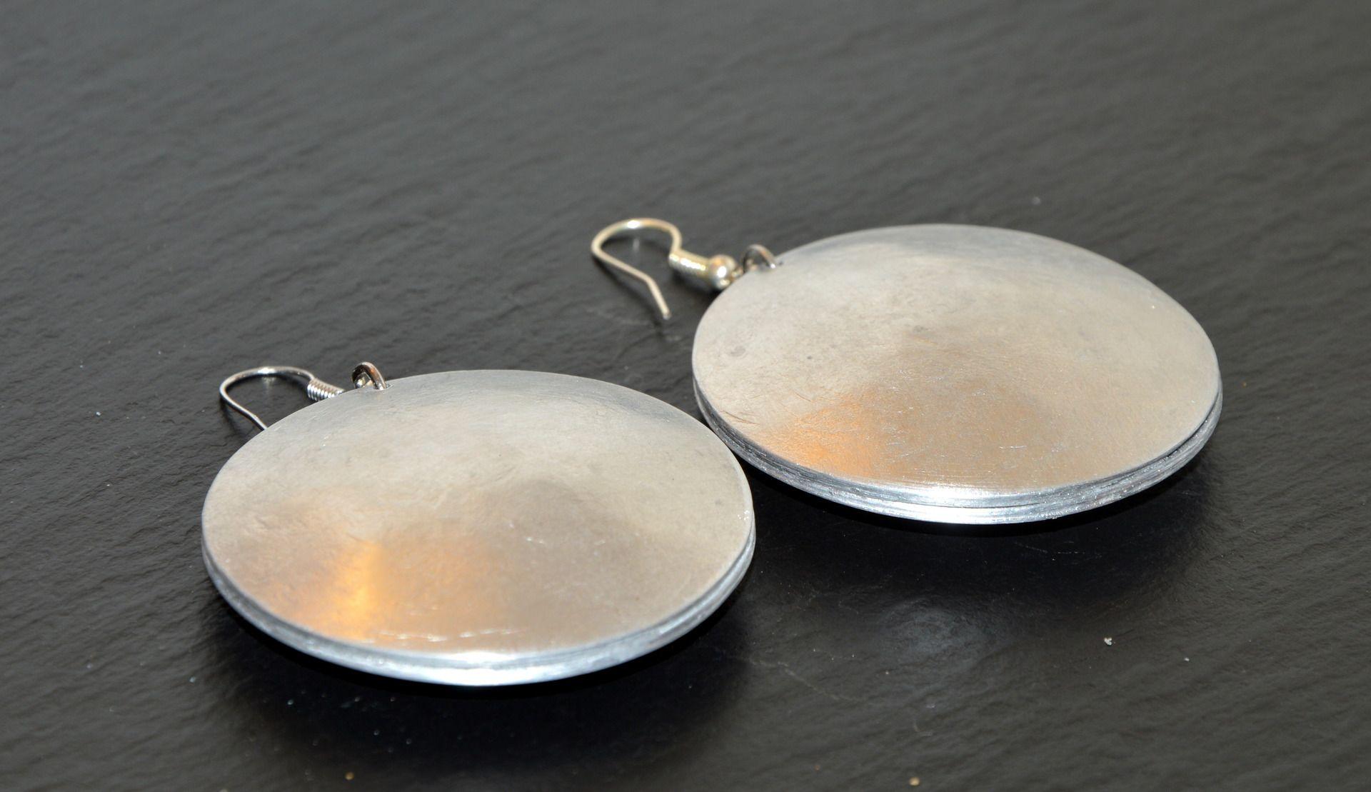 Gioielli in Alluminio realizzati interamente a mano : Orecchini di djewelry-lab
