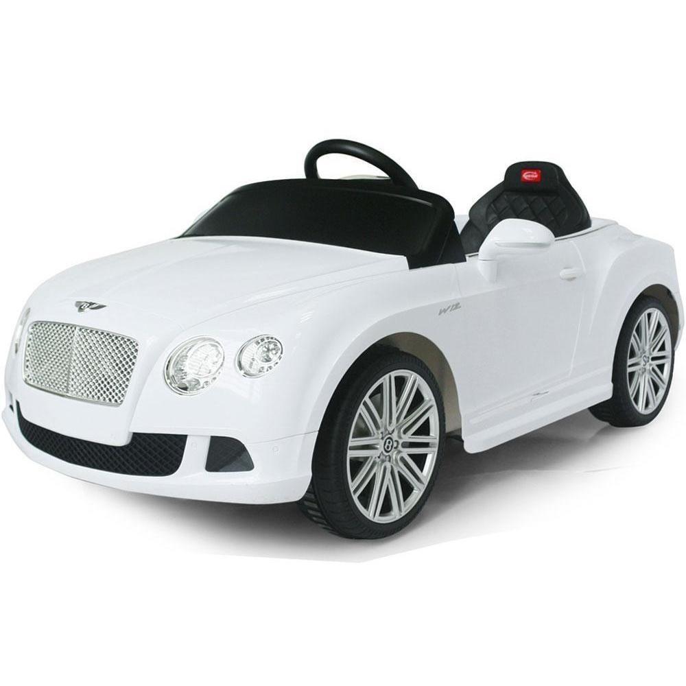 Rastar Rastar Bentley GTC 12v Kids Electric Car In White
