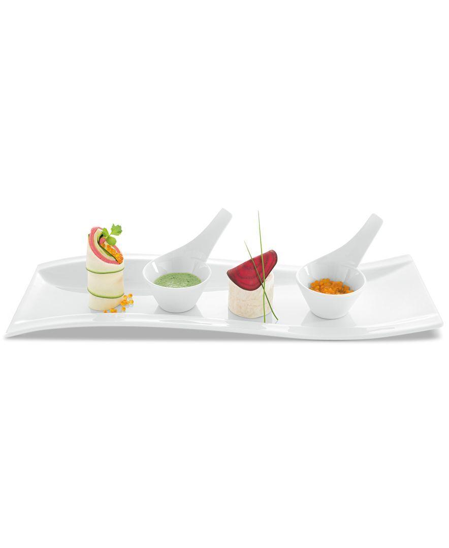 Villeroy Boch Dinnerware Set Of 4 New Wave Handled Dip Bowls Dinnerware Dining Entertaining Macy Villeroy Boch Dinnerware Dining And Entertaining