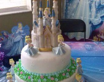 Frozen Castle cake topper Queen Elsa Princess birthday Cinderella