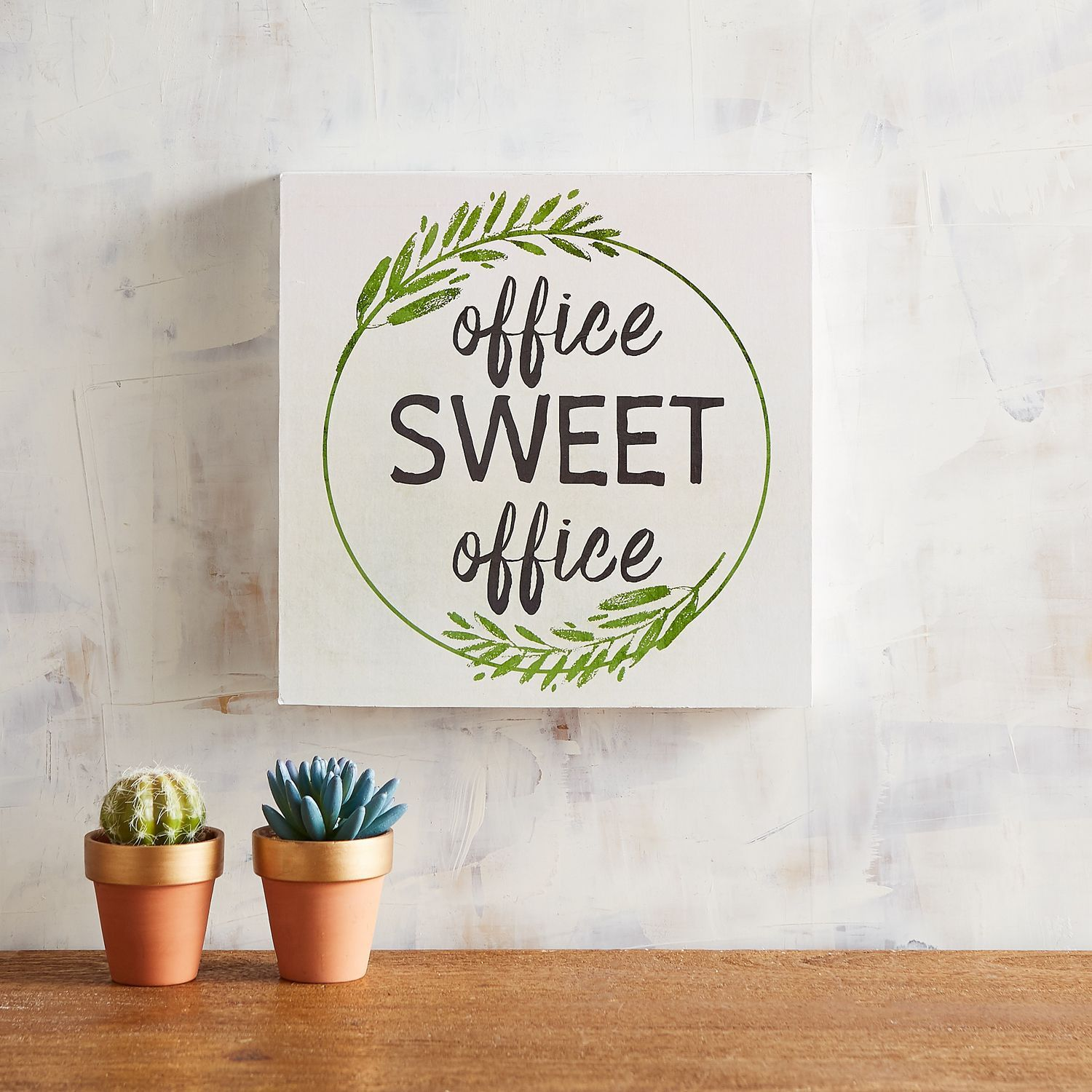 Home Decor Home Based Business: Office Sweet Office Small Art