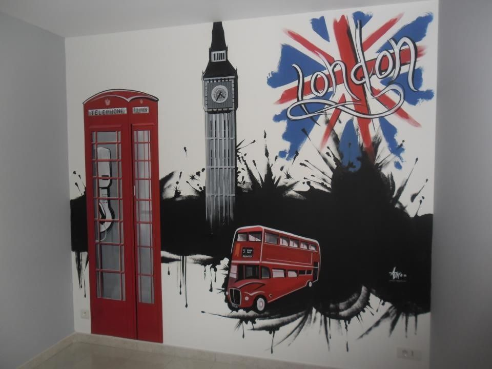 belle decoration chambre ado london  truck cool  Bedroom