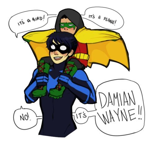 Danananananananana Damian i love how damian is going along with it