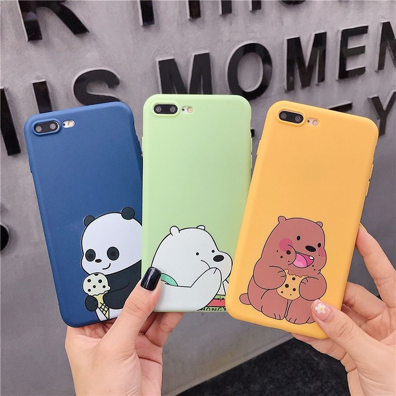 Coque Cartoon Cute Pattern Cases For iPhone - Free Worldwide Shipping