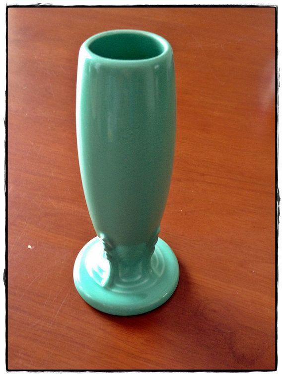 Vintage Fiesta Ware Bud Vase 6 Hlc Usa By Backertravaganza On Etsy