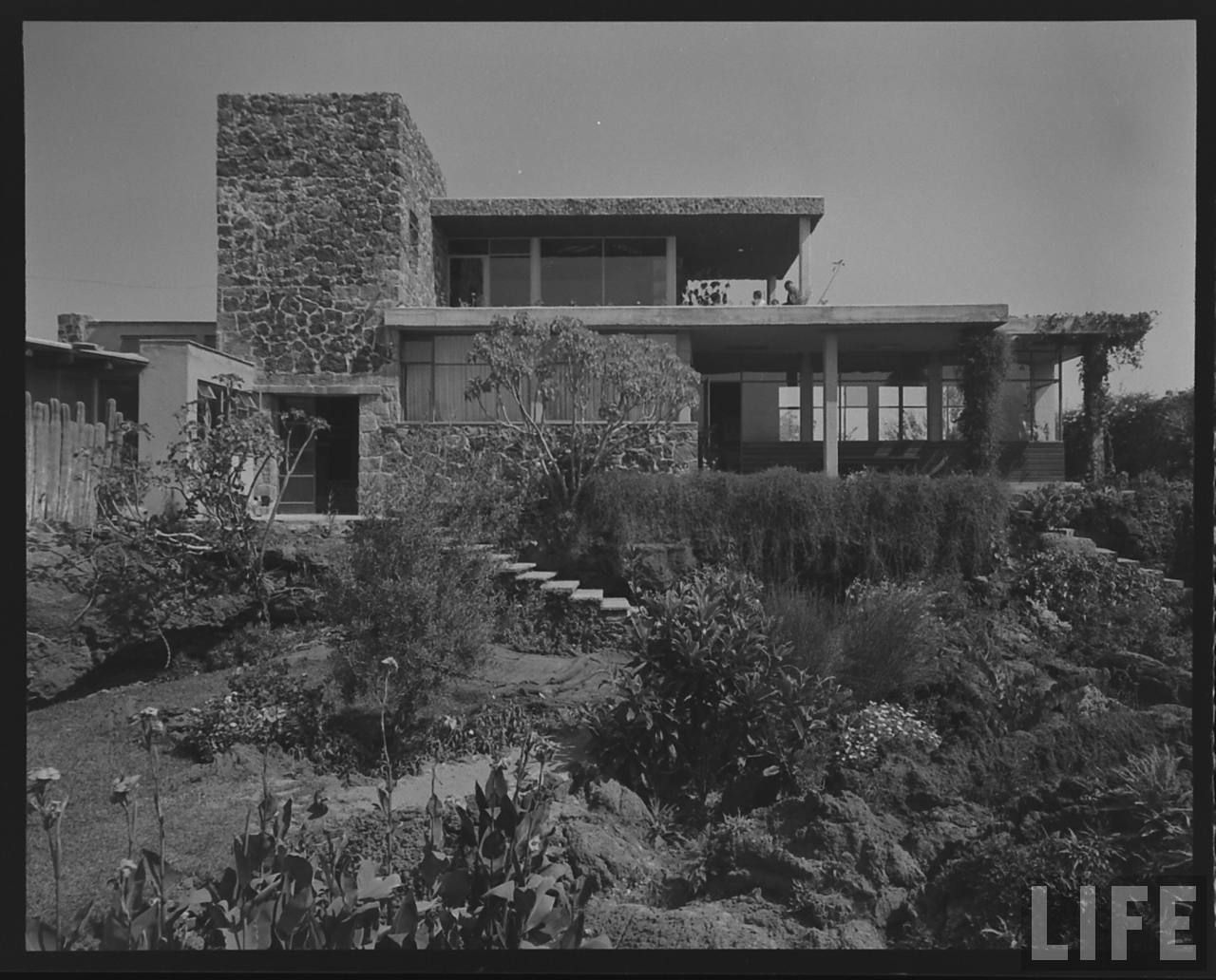 MAX CETTO ARCHITECTURE CASA CETTO 1951 51 1950S MEXICO MEXICO CITY ...