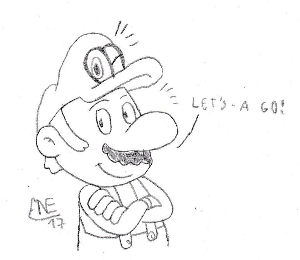 Super Mario Odyssey By Mrnintmandeviantartcom On Deviantart