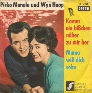 "Pirko Manola & Wyn Hoop - ""Mama will dich sehen"", german preselection for the Eurovision Song Contest 1962, place 4"