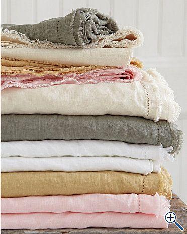 Eileen Fisher Washed Linen Bedding Linen Sheets Linen Bedding