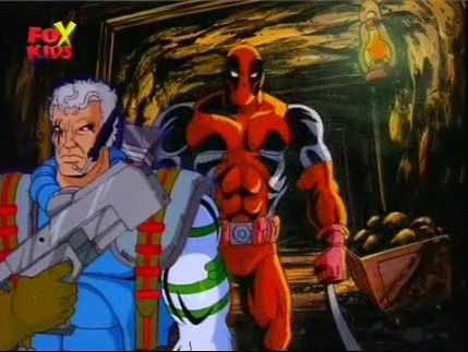 X Men Cartoon Cable And Deadpool In The 90s X Men Animated Series From What I Marvel Cartoons Animation Cartoon