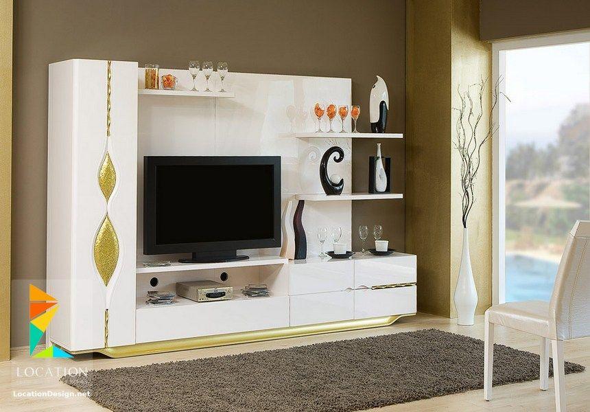 احدث اشكال مكاتب شاشات بلازما Home Furniture Decor