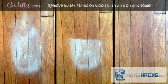 Remove Water Stains On Hardwood Floors Homehacks Water Stain On Wood Remove Water Stains Staining Wood