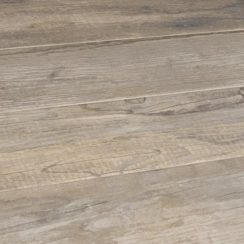 "MSI Salvage 6"" x 40"" Porcelain Wood Look Tile & Reviews"