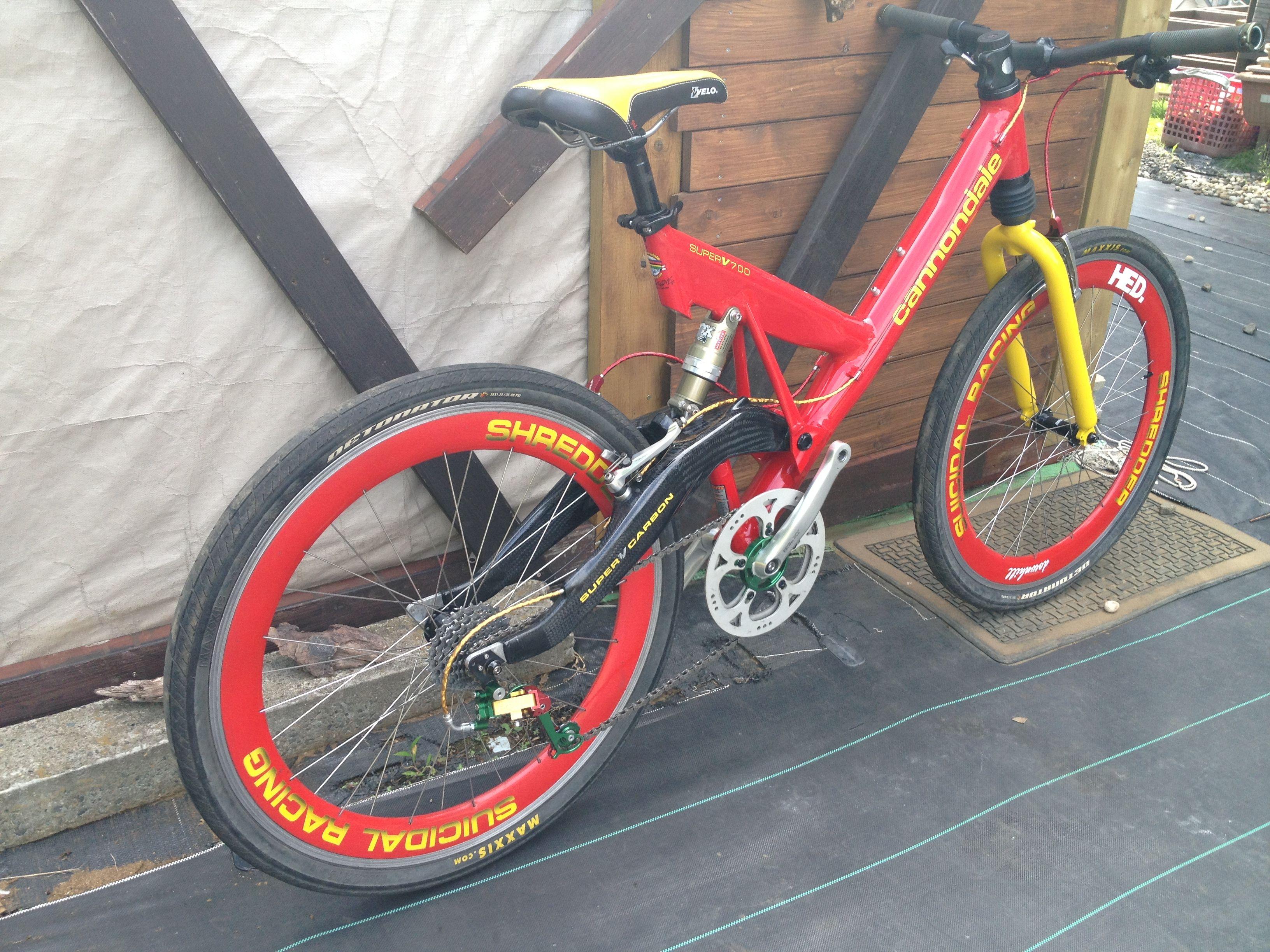 b4ed1142d60 Cannondale Super V 700 Carbon | FreeRide | Mtb bike, Mt bike ...