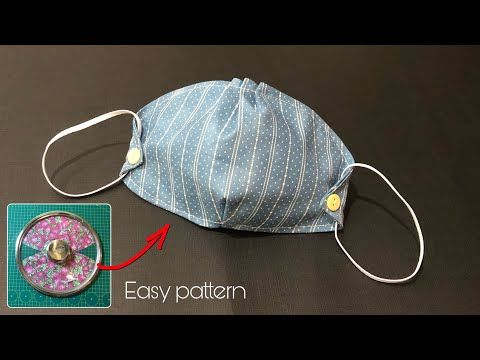 Photo of Breathable mask/ Fabric Face Mask Sewing Tutorial/ New Mask Design/ Face Mask DIY