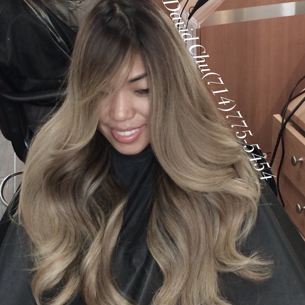Ash Brunette Bayalage Balayage Asian Hair Hair Gorgeous Hair Color