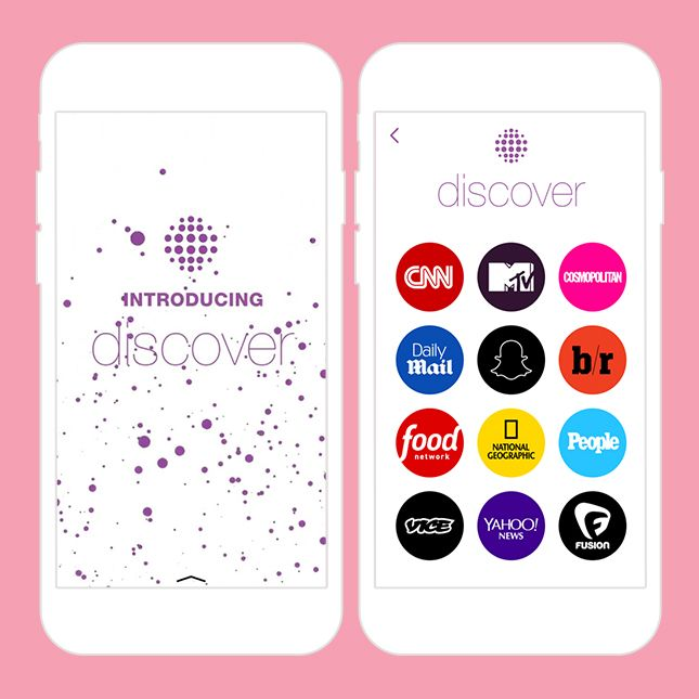 Can't wait for Snapchat to add more brands to the Discover
