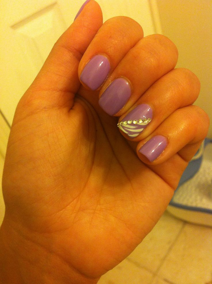 15 Summer Gel Nails | Purple gel nails, Summer gel nails and Nail nail