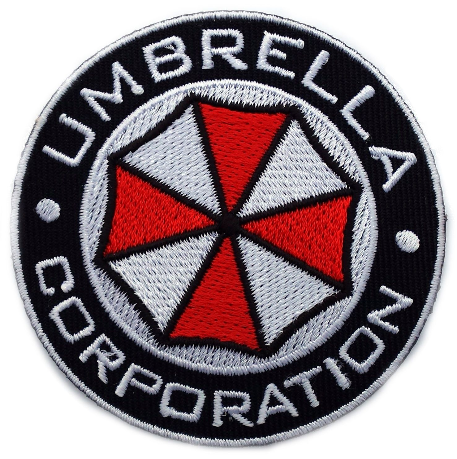 Resident Evil Collectibles Evil Umbrella Company Embroidered Hook Loop Patch UE