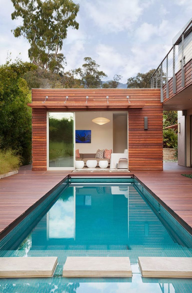 Small Pool House Designs Pool House Designs Modern Pool House