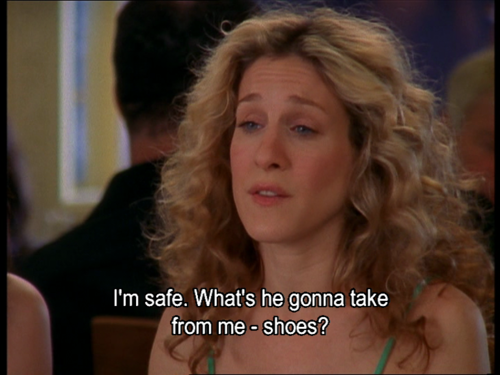 Sex and the city quotes about shoes