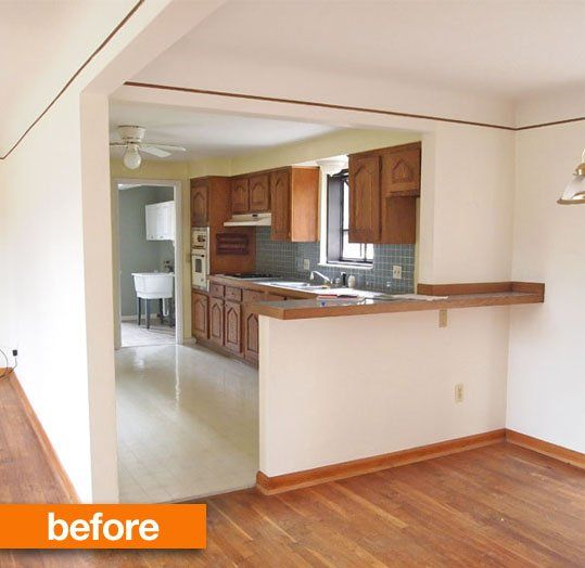 Before And After From Separate Rooms To Huge Open Plan: Before & After: Rick And Jessie's Fast-Track Kitchen