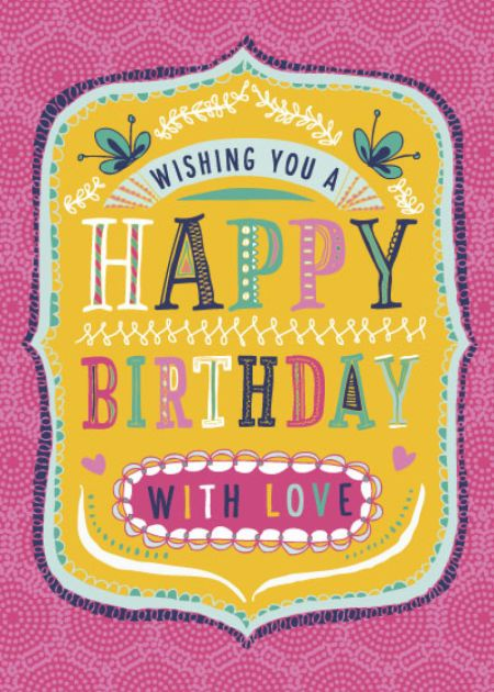 Rebecca Prinn Rebecca Prinn Typography Birthday Happy Birthday