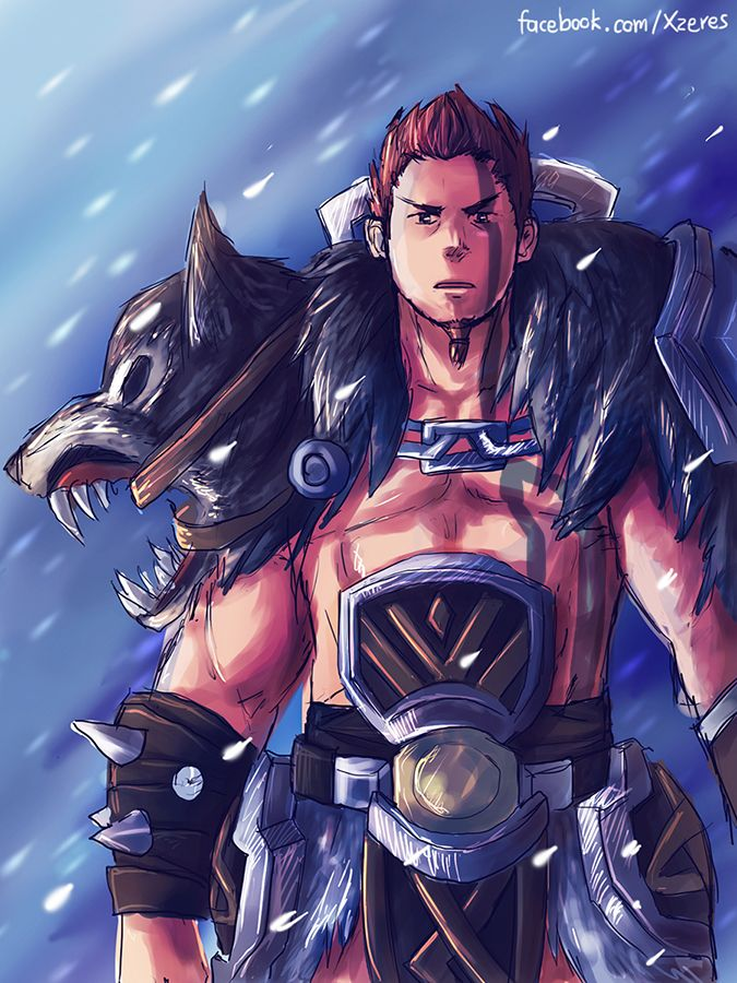 Woad King Darius League Of Legends Concept Art Characters Favorite Character