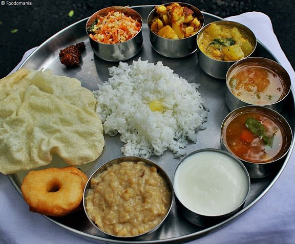 South Indian Thali Full Meal Recipes South Indian Thali Indian