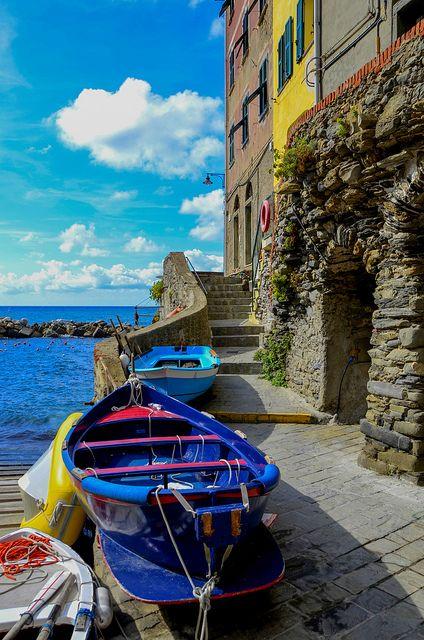 Riomaggiore - Cinque Terre, Liguria, Italy