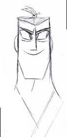 Franco S Blog Character Design Assignment Two Samurai Jack