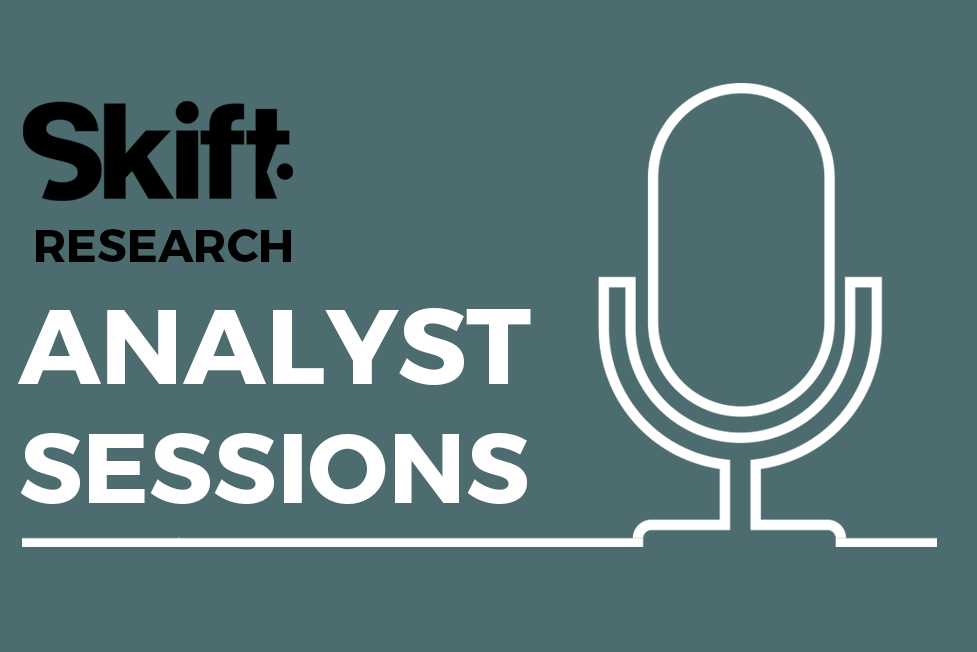 Introducing Skift Analyst Sessions For Research Subscribers Only Analyst Session Research