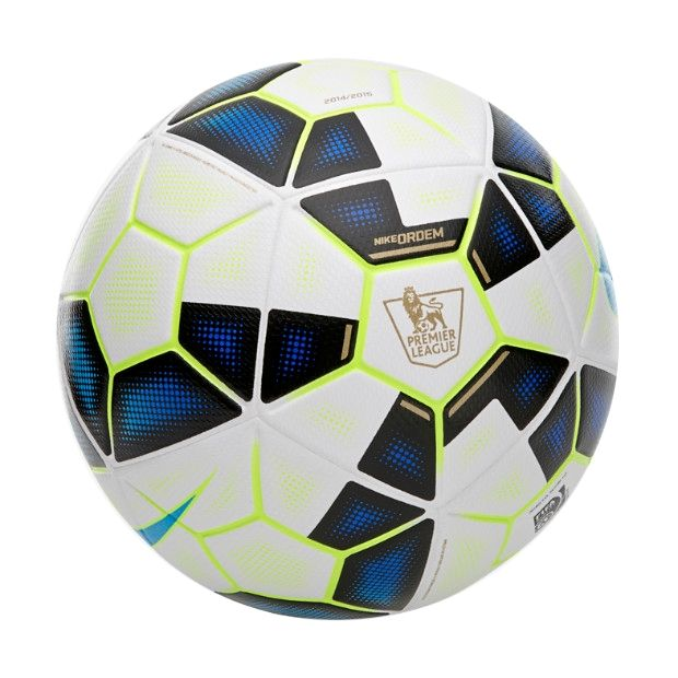 Nike Ordem 2 Epl Soccer Ball White Black Process Blue Get Your New Ball At Soccercorner Com Soccer Ball Nike Ordem Soccer